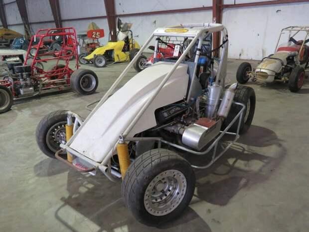 Vintage Fontana Midget Race Car Вот это ДА, винтажные авто, гоночные автомобили, интересно, коллекция авто, коллекция автомобилей, мотоциклы, раритетные автомобили