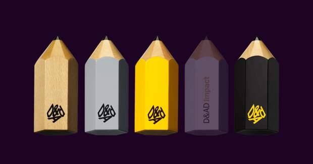 Креаторы разобрали карандаши: лучшие работы с D&AD