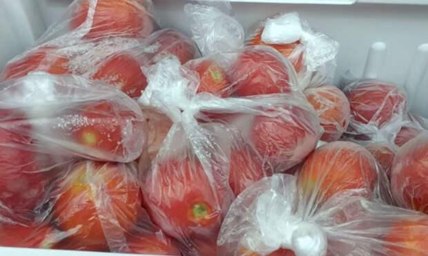 Как хранить спелые летние помидоры всю зиму