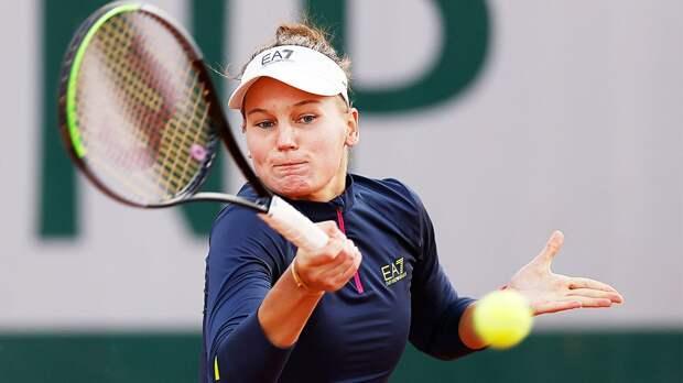 Кудерметова проиграла Мертенс в 1/4 финала турнира в Линце