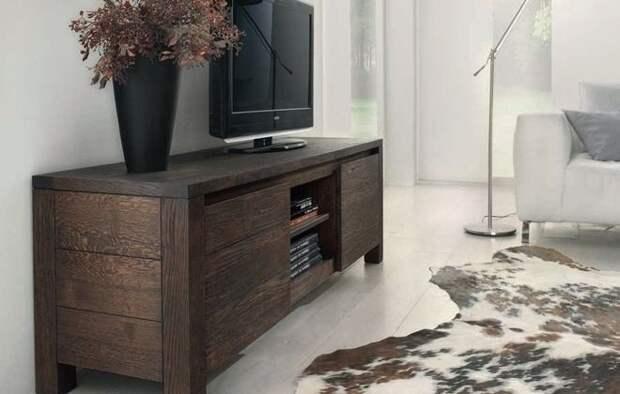 комод под телевизор лофт