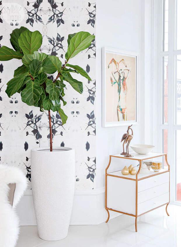 Гармоничный интерьер городской квартиры в белом цвете