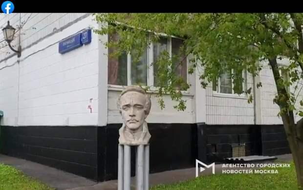 Фото дня: скульптурный двор на Пятницком
