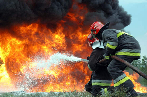 В Туапсинском районе горела гостиница