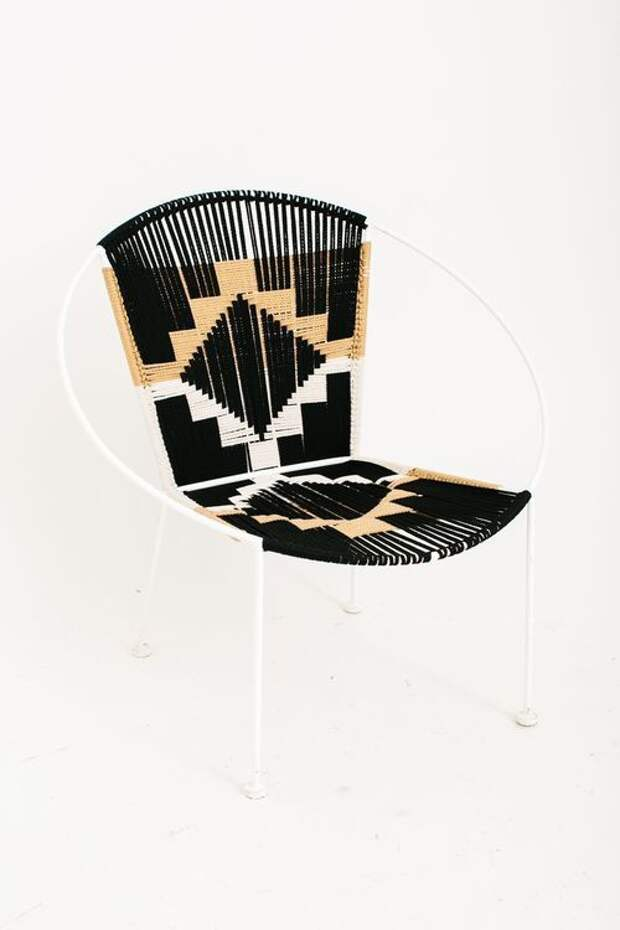 Кресла из шнуров и веревок