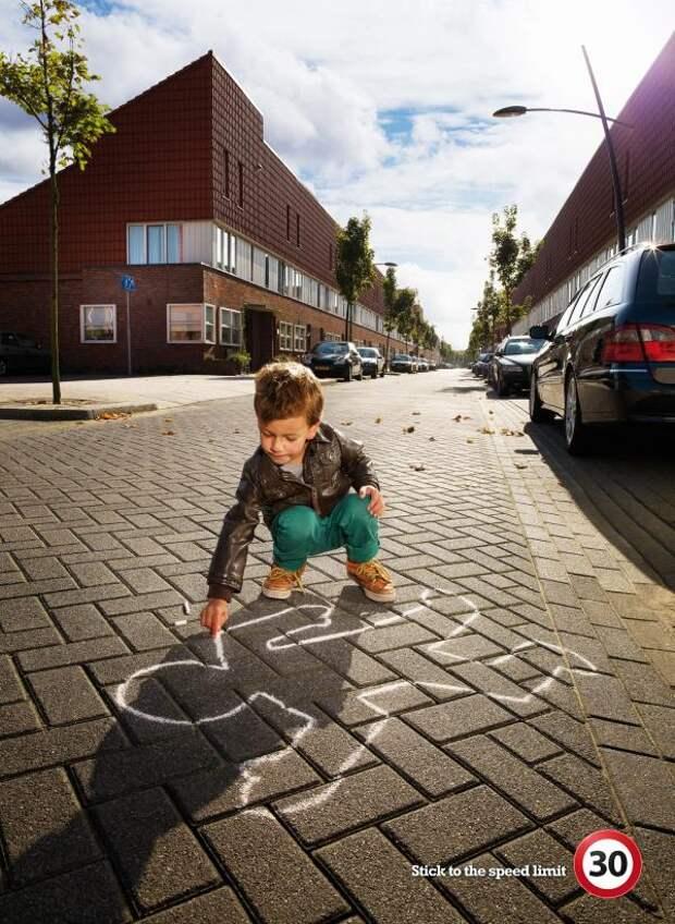 TopGear Magazine: Stick to the speed limit, TopGear, Draftfcb, Печатная реклама
