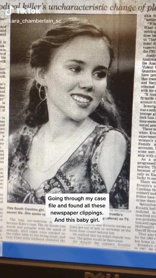 Девушка, которая сбежала изплена серийного убийцы, поделилась советами поспасению вTikTok