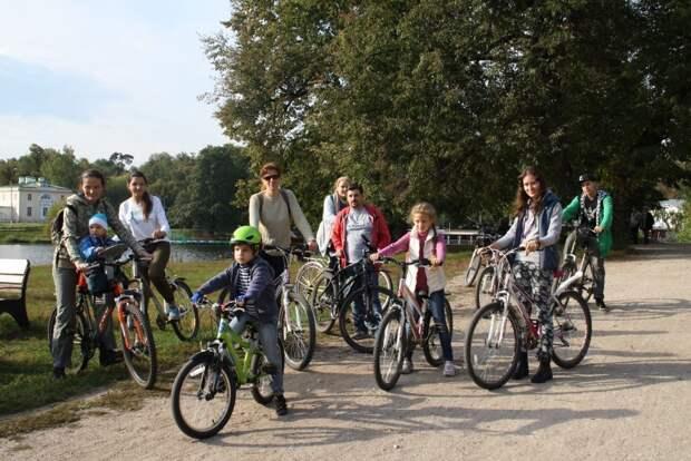 В парке «Кузьминки-Люблино» открылся новый сезон велоэкскурсий