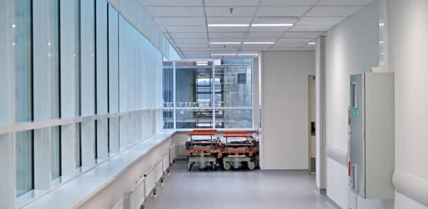 Лечебно-диагностический комплекс дляИКБ №1 наВолоколамском шоссе построят встиле хай-тек