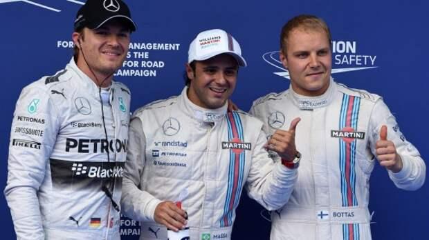 Формула 1: призовой финиш Williams