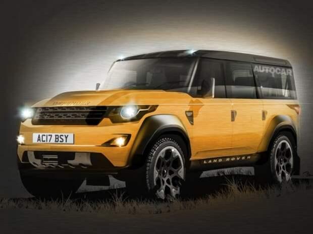 Новый Defender станет самым способным Land Rover