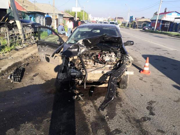 Из-за пьяного водителя в центре Омска погибла молодая женщина