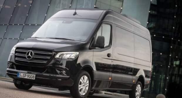 Более 200 фургонов Mercedes-Benz Sprinter попали под отзыв в России