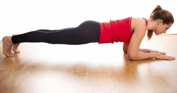 Можно липохудеть спомощью упражнения «планка»
