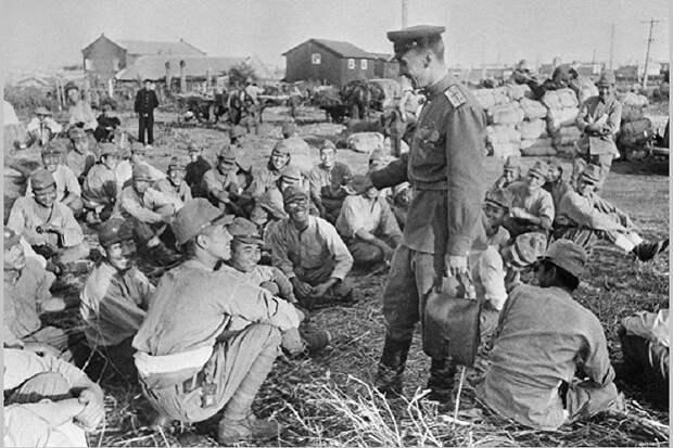 Япония летом 1945 хотела сдать солдат Квантунской армии СССР