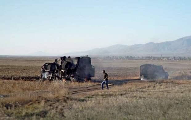 Показан уничтоженный Азербайджаном армянский ОТРК «Эльбрус»