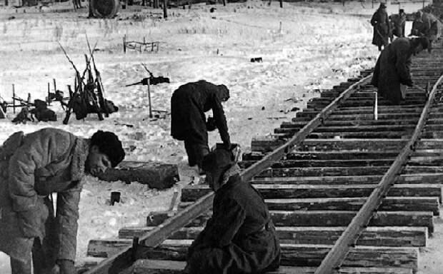 «Коридор смерти»: как проложили железную дорогу в блокадный Ленинград