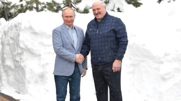 Президенты России и Белоруссии договорились о встрече в ближайшее время