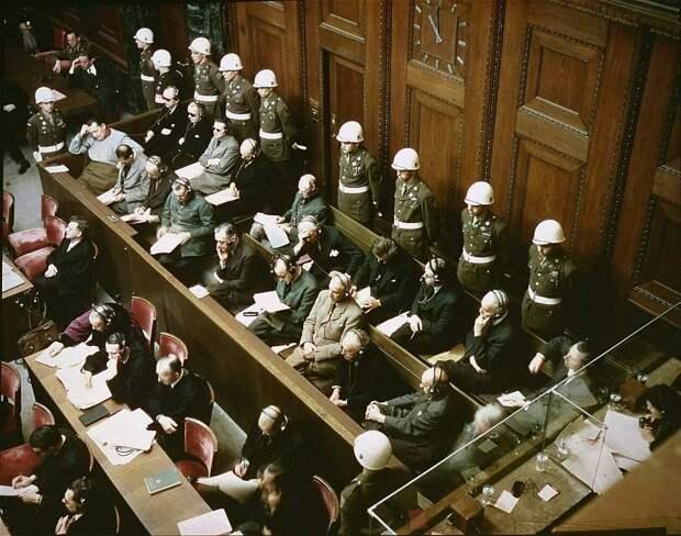 Кого не осудили в Нюрнберге