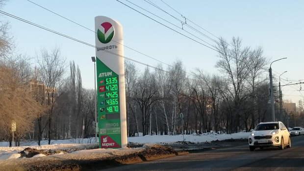 Бензин вОренбурге подорожал вфеврале–марте больше, чем завесь 2020 год