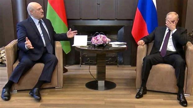 Путин продиктовал Лукашенко условия его спасения