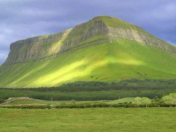 0 85ebb 40e89ea3 orig Бен Балбен — удивительно живописная гора в графстве Слайго