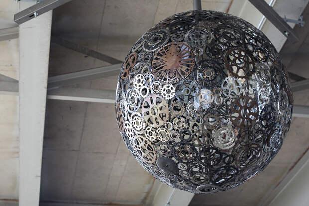 diylamps19 21 идея изготовления светильников и люстр из повседневных предметов
