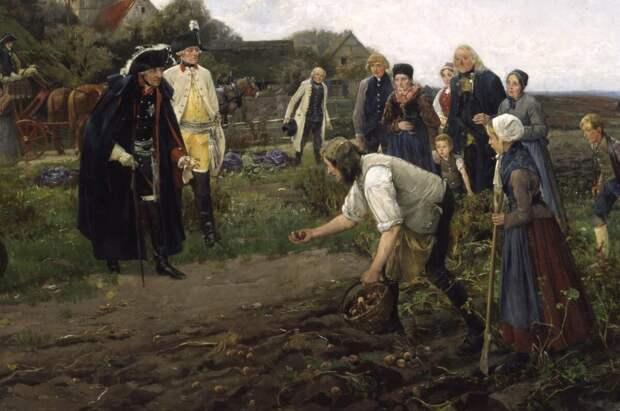 Король инспектирует урожай. Художник: Robert Warthmüller