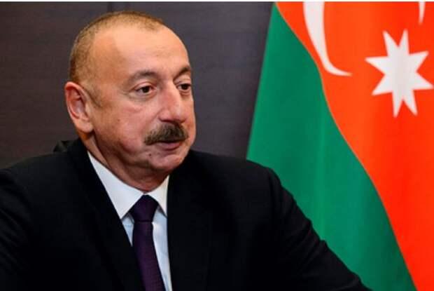 Алиев назвал условие прекращения боев в Нагорном Карабахе