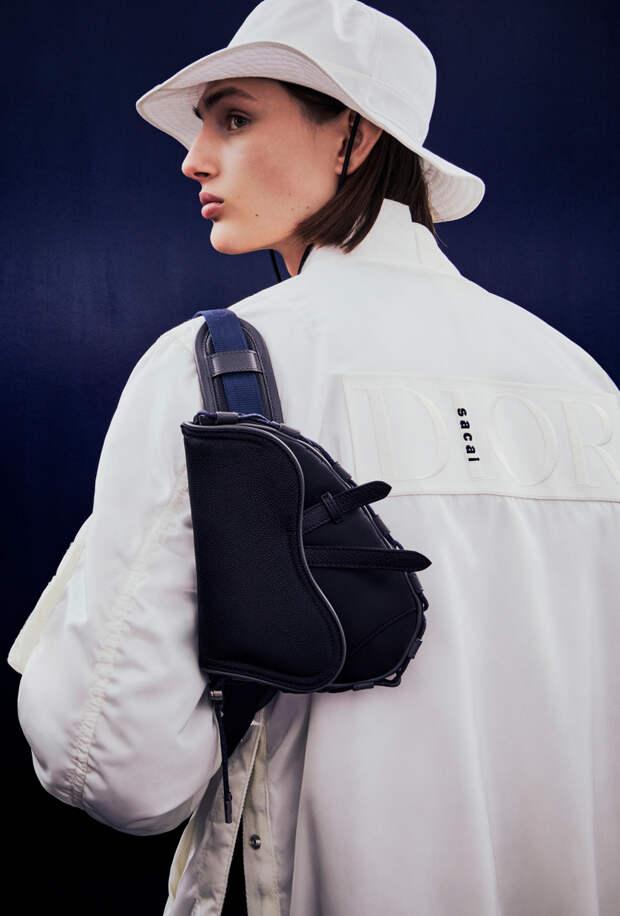 Dior представил капсульную коллекцию с японским брендом Sacai