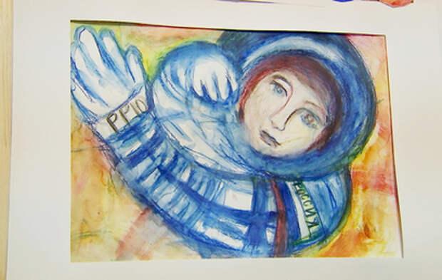 В Южном Чертанове отерылась выставка, посвященная полету Гагарина