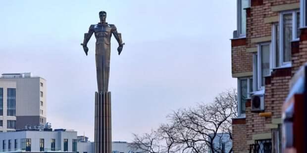 Сергунина: В следующем году в Москве начнется реставрация памятника Юрию Гагарину