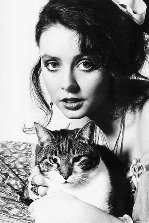 Сара Брайтман всегда была в хороших отношениях с кошками