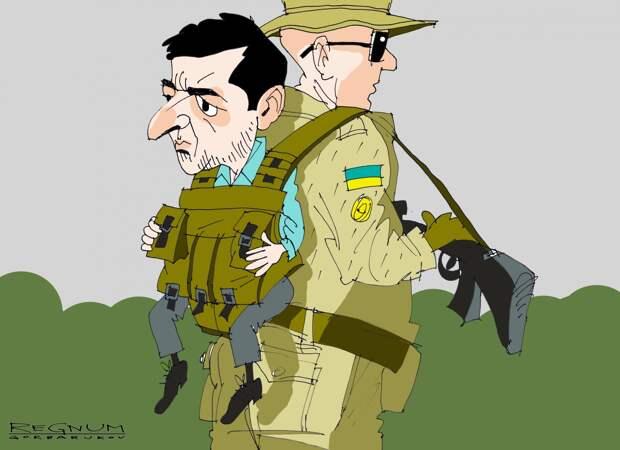 Юморист примеряет френч диктатора