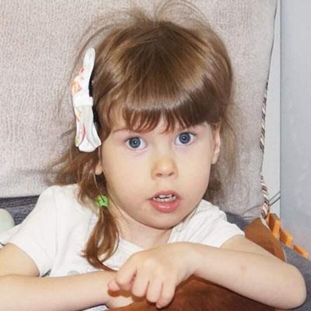 Ульяна Ходорцова, 4 года, детский церебральный паралич, требуется курсовое лечение, 205716₽