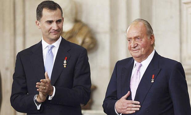 Бывший король Испании Хуан Карлос покидает страну из-за финансового скандала