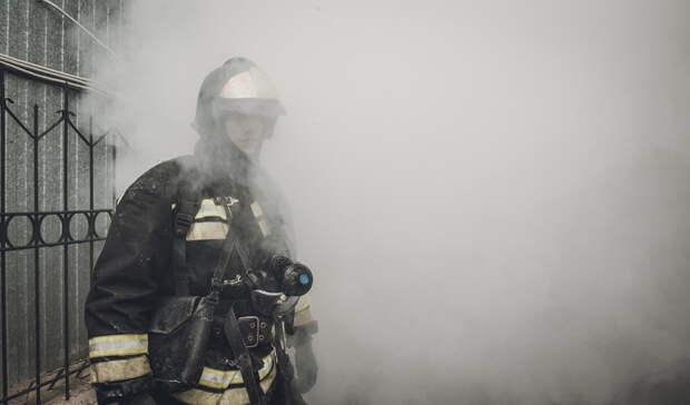 Из-за прорыва водопроводной трубы начался пожар наВагонке вНижнем Тагиле
