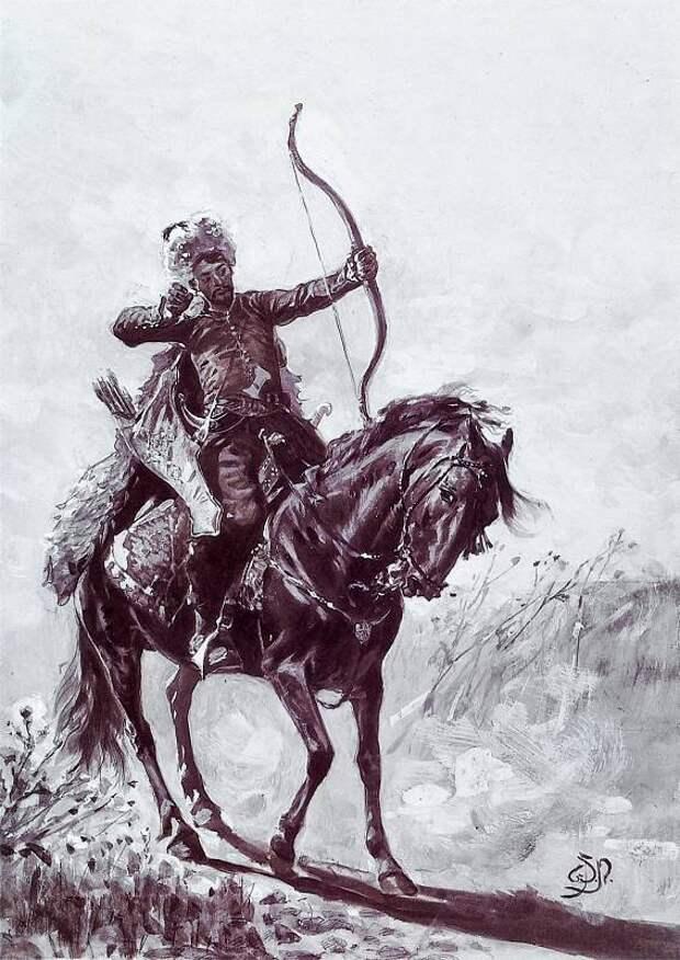 Татарский лучник <br>