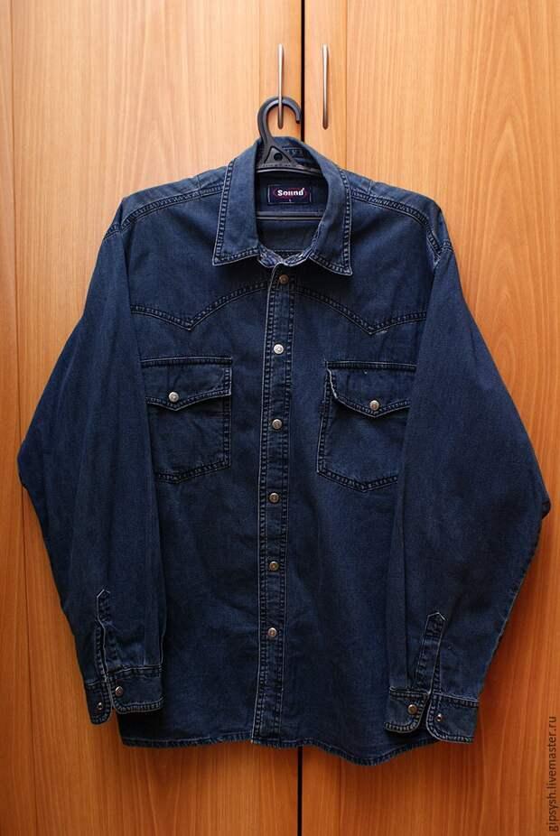 Идеи кастомайзинга джинсовой рубашки