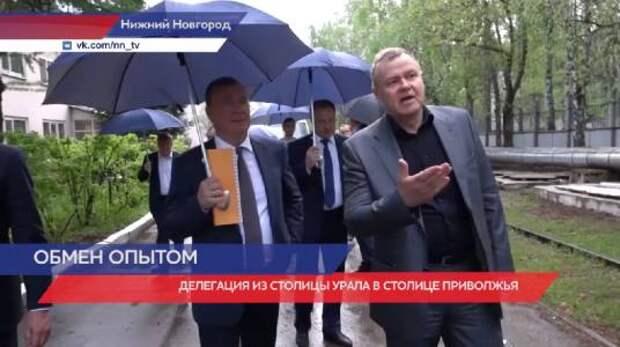 Делегация из Екатеринбурга посетила метро и «Нижегородэлектротранс»