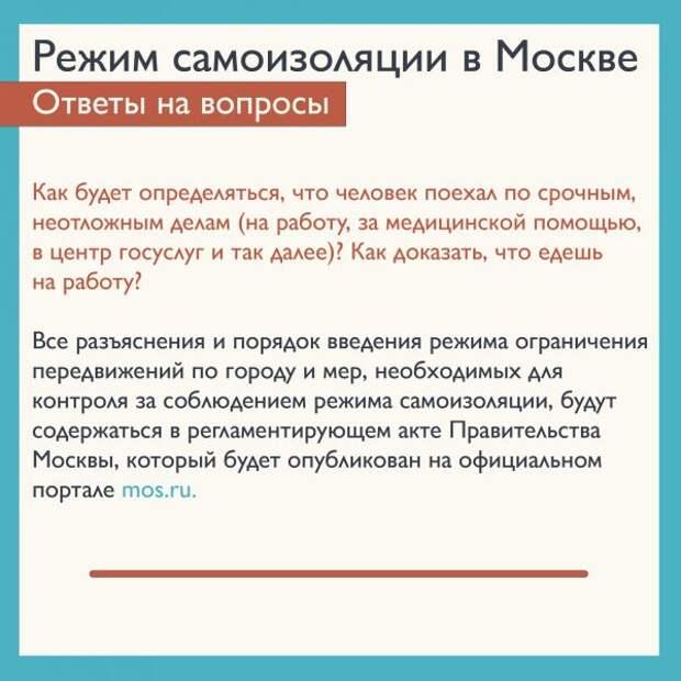 Власти рекомендуют москвичам иметь при себе документ, удостоверяющий личность