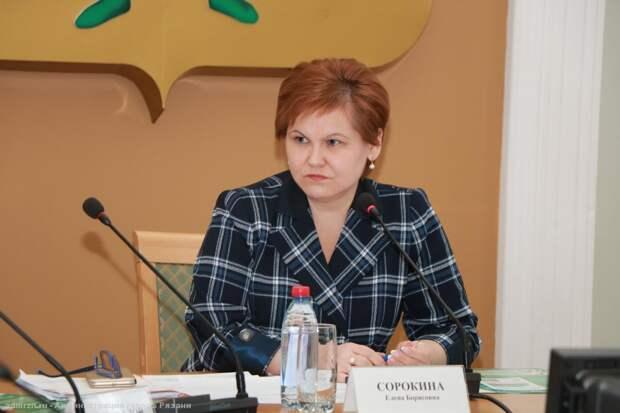 Елена Сорокина прокомментировала ситуацию с ливневой канализацией в Рязани