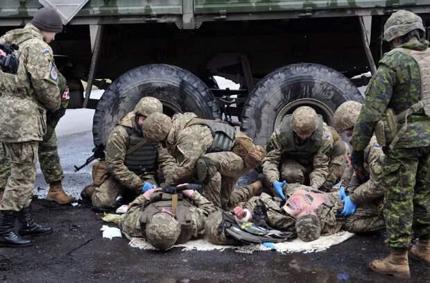 ВСУ и нацгвардия понесли ощутимые потери (ФОТО)