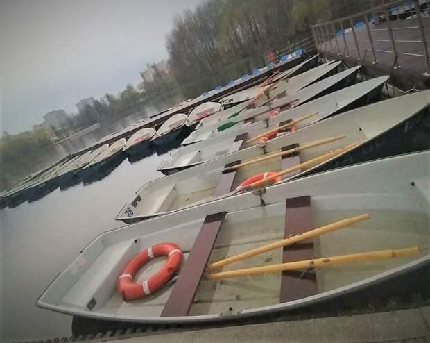 В Измайловском парке открылась лодочная станция