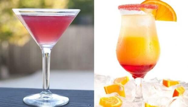 10 лучших рецептов коктейлей из Martini