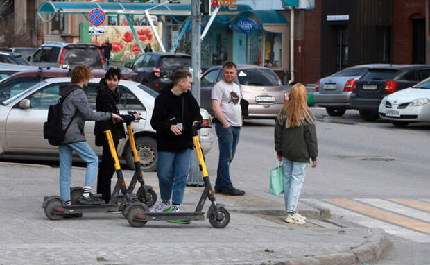 Движение электросамокатов ограничат на территории Новосибирска