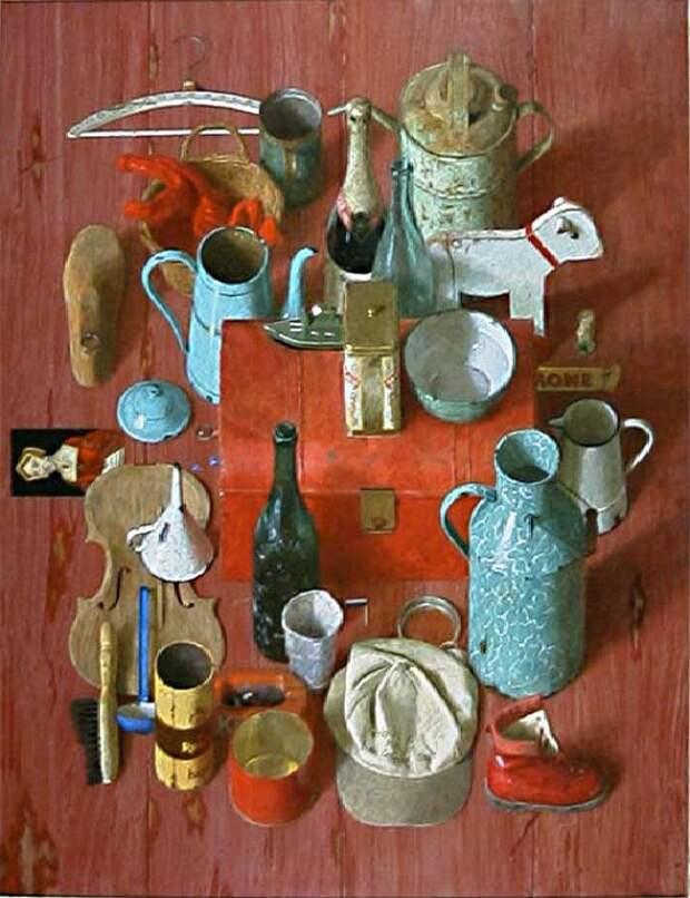 Блошиный рынок. Живопись от Kenne Gregoire.