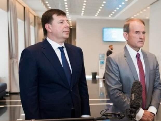 Генпрокуратура Украины предъявила Медведчуку и Козаку обвинения в госизмене
