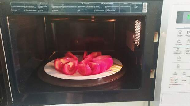 Быстрые вяленые помидоры