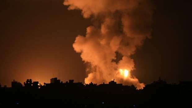 Израиль заявил о нанесении удара по структурам ХАМАС